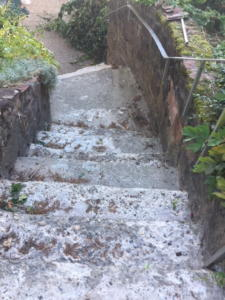 Treppe Moosbrunn vorher2