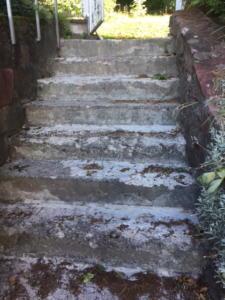 Treppe Moosbrunn vorher3